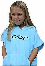 COR Kinder Poncho Handtuch Robe Light und