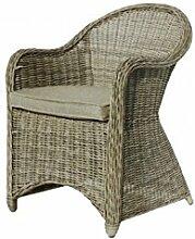 COR Mulder–Outdoor-Stuhl, geflochten beige Nizza