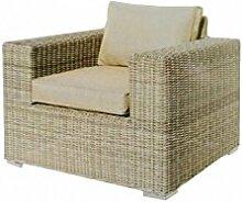 COR Mulder–Sessel Outdoor aus Polyratten beige Nizza