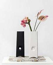 Cor Unum Vision Vase Groß - Weiß oder Schwarz