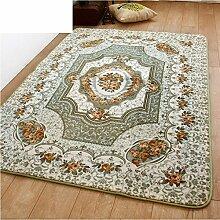 Coral Fleece-Stil moderne minimalistische Teppiche/ Haushalt Tür Decke-A 130x190cm(51x75inch)