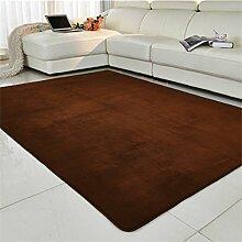 Coral Fleecedecke/Wand zu Wand Wohnzimmer Sofa und Teppiche und Schlafzimmer Erker durch das Bett-Pad/Schlafzimmer Bettdecke-B 80x160cm(31x63inch)