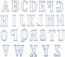 CoralStore Alphabet Stanzschablone DIY
