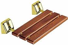 Coram proMed Serie 200 Holz-Duschklappsitz Gold