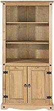 CORE Products 2tür Bücherregal, Holz, Antik