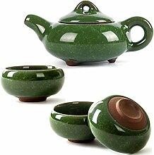 corelife Chinesische Tee-Set, Kung Fu Porzellan