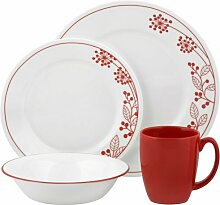 Corelle Geschirr-Set Berries and Leaves aus