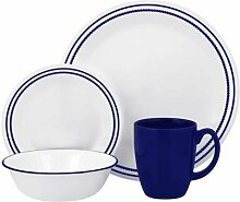 Corelle Geschirr-Set Breathtaking Blue Beads aus