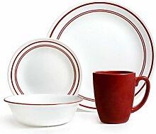 Corelle Geschirr-Set Classic Cafe aus