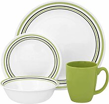 Corelle Geschirr-Set Garden Sketch Bands aus