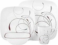 Corelle Geschirr-Set Splendor aus Vitrelle-Glas