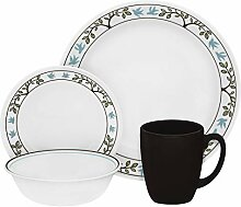 Corelle Geschirr-Set Tree Bird aus Vitrelle-Glas