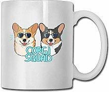 Corgi Squad 11oz Tee Tasse Kaffee-Haferl