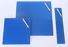 CORKLINE GLAS MAGNETTAFEL blau 35x35 NEU PINNWAND