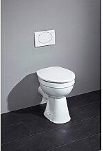 CORNAT Clean WC Höhe 455 mm flach, weiss