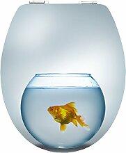 Cornat WC-Sitz Magic Motion GOLD FISH /