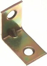 Corner Brace Repair Bracket Gelb Winkel, Stahl Verzinkt, 25 mm, 4 Stück