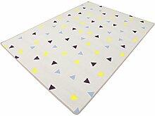 Corner grau HEVO® Teppich | Spielteppich | Kinderteppich 200x200 cm