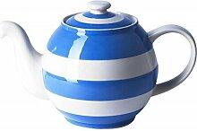 Cornishware blau und weiß stripe Small Betty