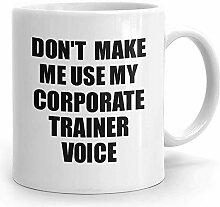 Corporate Trainer Becher für Corporate Trainer