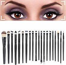 Cosanter 20er Set Make-up Kosmetik Pinsel-Set