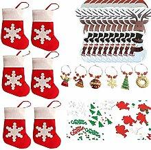 COSORO Weihnachten Tischdeko Kits-30 Fun