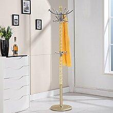 COSS Continental Dreh Boden Kleiderbügel Metall Kleiderständer Europäischen Kleiderbügel Kreative Schlafzimmer Regal Klassische Kleiderbügel ( Farbe : G )