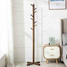 COSS Einfache Bambus Aufrechte Hängeleiste, Boden Home Schlafzimmer Einfache Kleider Klassische Kleiderbügel ( Farbe : B )