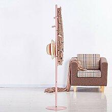 COSS Einfache Coatrack Einfache Moderne Schlafzimmer Kleiderständer Tasche Aufhänger Eisen Rahmen Klassische Kleiderbügel ( Farbe : Weiß )