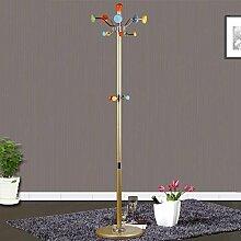 COSS Europäische Rotary Metall Garderobe Indoor Hängende Aufhänger Einfache Weiße Kristall Kombinationstrockner Klassische Kleiderbügel ( design : A )