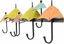 COSS European Retro Eisen Haken / Wand hängen, kreative Hut Rack Umbrella Modellierung Klassische Kleiderbügel ( Farbe : B )