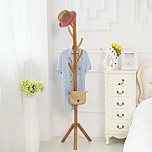 COSS Mantel Rack Schlafzimmer Modern Simple Solid Hölzerne Hanger Klassische Kleiderbügel ( Farbe : #3 )