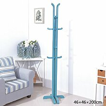 COSS Mantel Stand in Massivholz Mantel Hut Umbrella Floor Standing Rack Essentials Klassische Kleiderbügel ( Farbe : S )