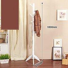 COSS Massivholz Schrank Rack Schlafzimmer Racks Einfache moderne Wohnzimmer Einfache Kleidung Rack Klassische Kleiderbügel ( Farbe : I )