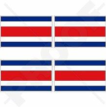 COSTA RICA National flagge, Mittelamerika 50mm