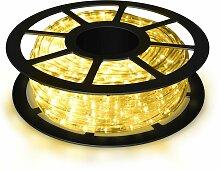 COSTWAY 10M LED Lichterschlauch Lichtschlauch