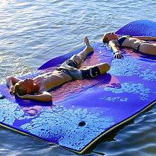 COSTWAY 270x180cm Wasserhaengematte, Wasserliege