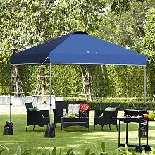 Costway 3 x 3m Pop-up Gartenpavillon Faltpavillon