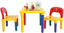 COSTWAY 3tlg. Kindersitzgruppe Kindermöbel