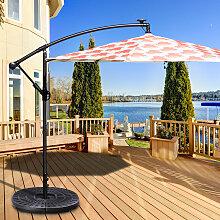Costway 4-teiliger Sonneschirm Schirmständer