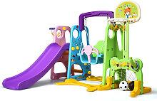 Costway 6 IN 1 Kinderrutsche Spielplatz