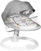 Costway Babywippe Elektrischer Baby Schaukelstuhl