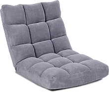 Costway Bodenstuhl Faltbares Lazy Sofa Faul Tatami