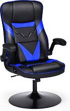 Costway Bürostuhl höhenverstellbar Gaming Stuhl