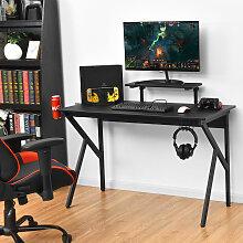Costway Gaming Tisch Ergonomischer PC