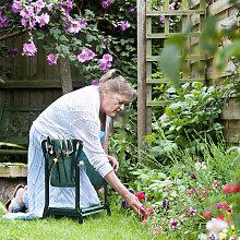 Costway Garten Kniebank Gartenhocker Arbeitshocker