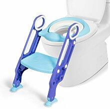 COSTWAY Kinder Toilettensitz h?henverstellbar,
