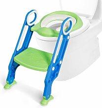 COSTWAY Kinder Toilettensitz hoehenverstellbar,