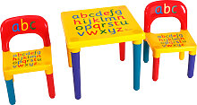 Costway Kindermöbel 3 tlg. Kindersitzgruppe