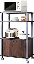 COSTWAY Küchenregal für Mikrowelle,